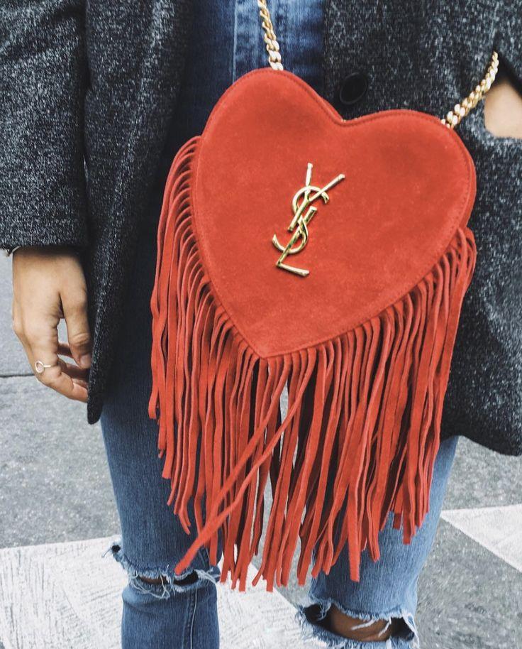 ysl love fringe cross body