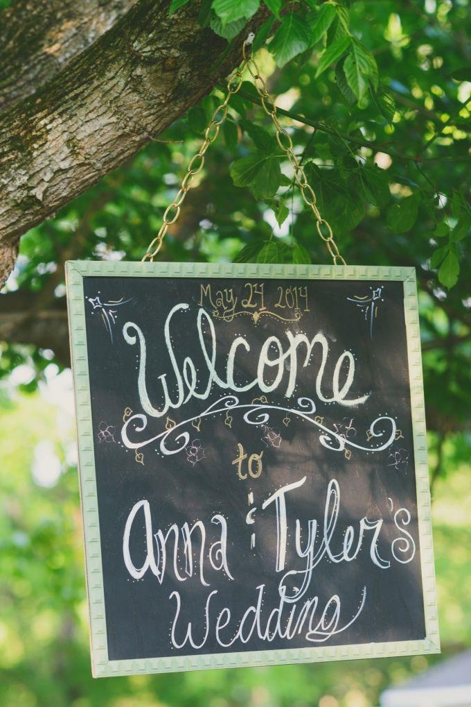 歓迎黒板記号|ジェシー·ホロウェイ写真|グラマー&グレイス