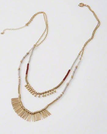 Layered Necklace from Abercrombie & Fitch $34,00
