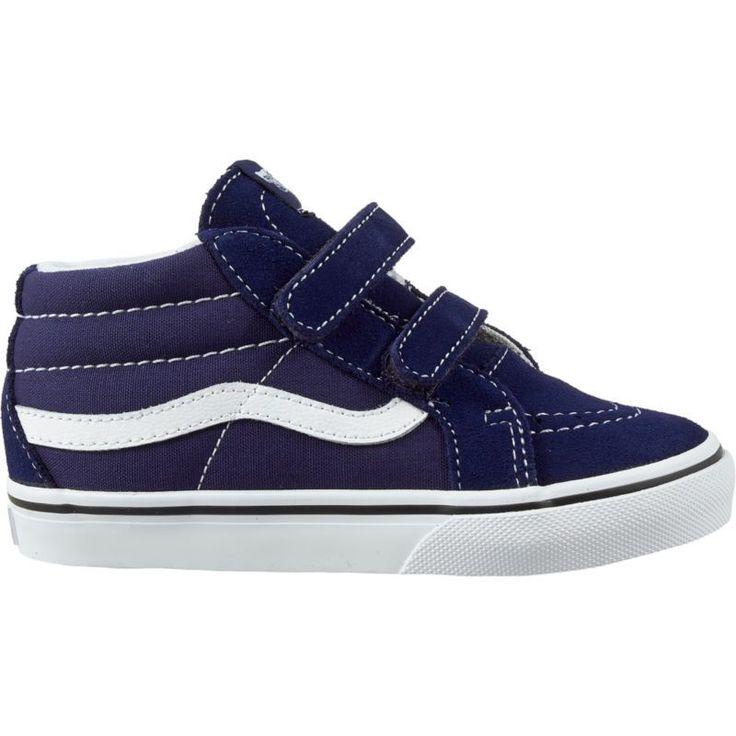 Vans Toddler SK8-Hi Mid Reissue V AC Shoes, Toddler Girl's, Blue