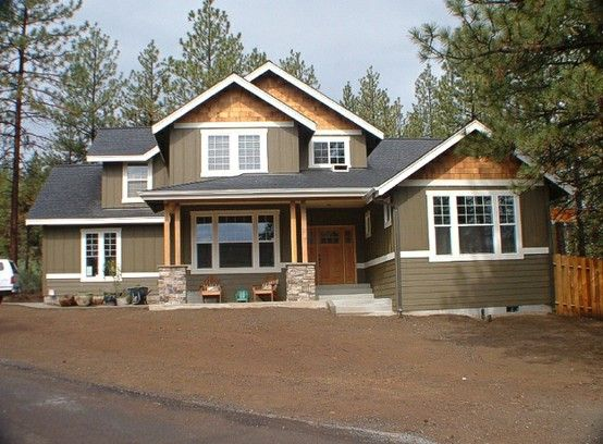 home exterior on pinterest exterior colors craftsman style houses. Black Bedroom Furniture Sets. Home Design Ideas