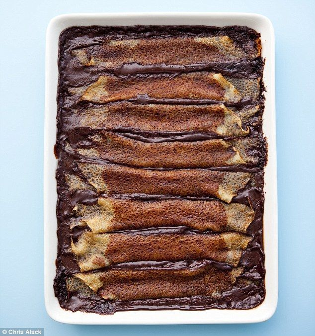 Food: Easy chocolate pancakes and quick choc sauce