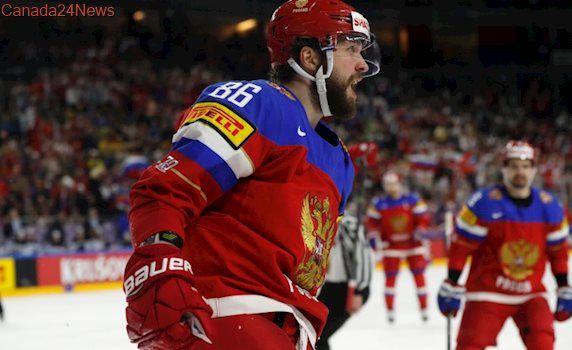 Kucherov seals bronze for Russia at hockey worlds