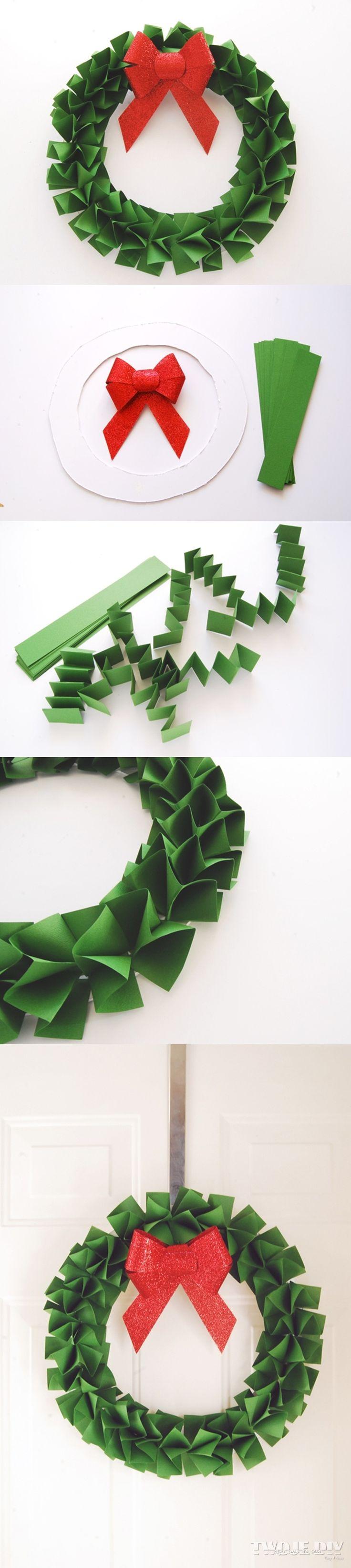 Papierowy wieniec