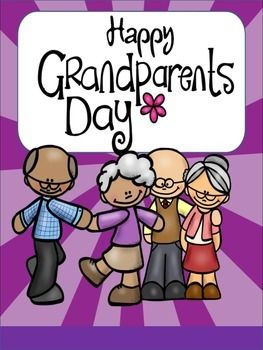 FREEBIE! Happy Grandparents Day Coloring Activity