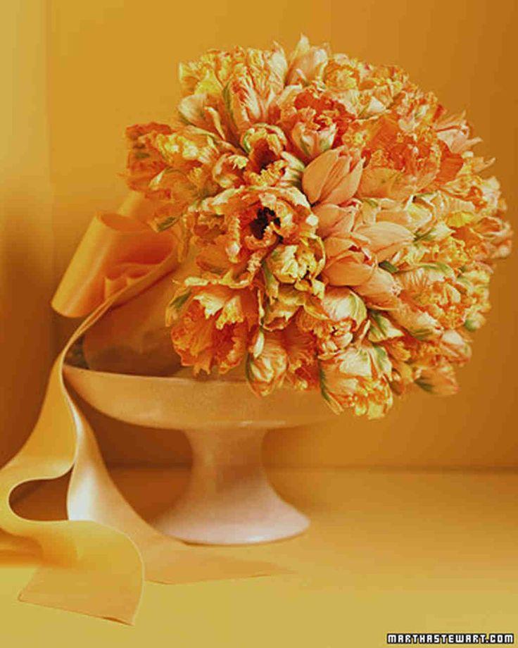 Tulip Wedding Bouquets | Martha Stewart Weddings
