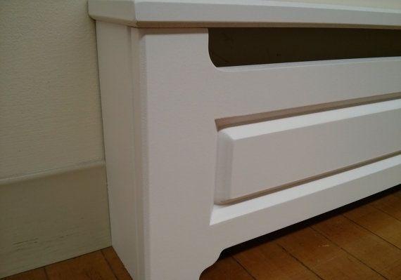 Custom Made To Order Baseboard Heater Covers V Shaped