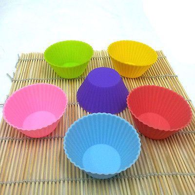 Silicone Chocolate Brownie Bowls Cake Mould