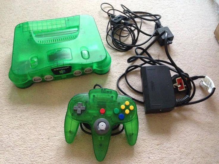 RARE Nintendo 64 (N64) Jungle Green Console - Funtastic ...