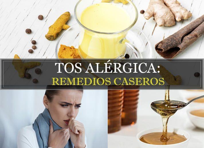 medicamento natural para la tos alergica