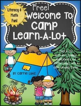 This product contains pages from my end of year camping themed product Camp Learn-A-LotMath and Literacy sampling of a few pages.VocabularyABC OrderMissing Addend Bingo Dabber math game.Get the entire product here.Camp Learn-A-Lot for First Grade