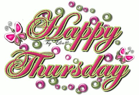 Happy Thursday days days of the week thursday weekdays happy thursday thursday greeting