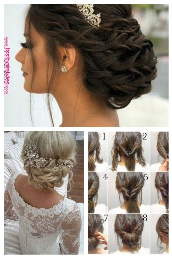 Susse Quinceanera Frisuren Mit Krone Hochzeitsfrisuren Weddinghairstyleswithtiara Quince Hairstyles Quinceanera Hairstyles Hair Styles