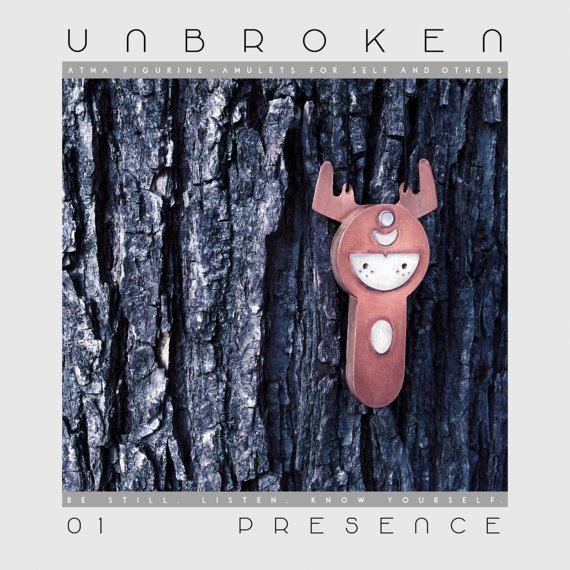 ATMA UNBROKEN 01 PRESENCE Copper Silver Walnut by AtmaIsSpace