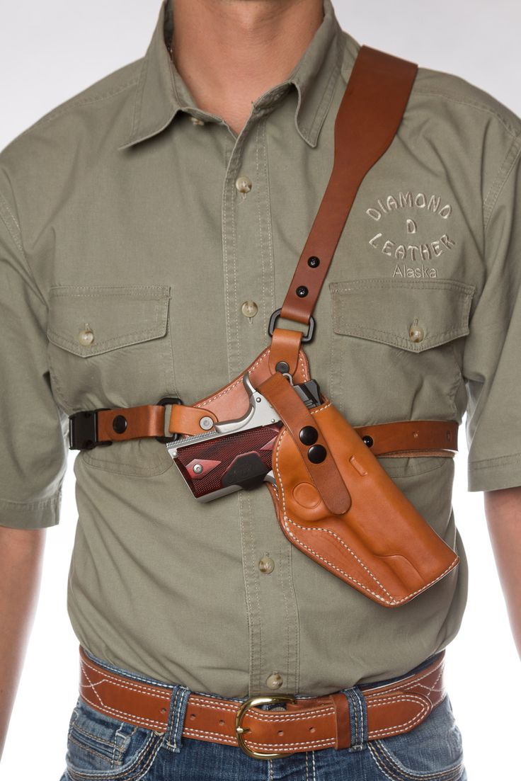 Leather Chest Holster Guide S Choice Leather Chest