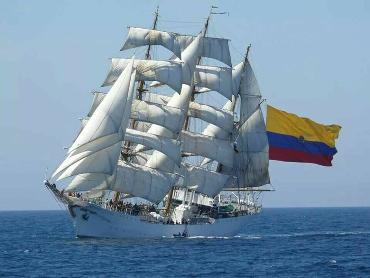 Buque escuela ARC Gloria - training Colombian ship ARC Gloria