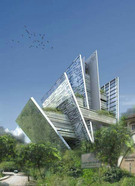 Academy of Sciences Malaysia | #Competition | 2011.  Studio BiCuadro, in collaboration with the studio Akitek Rekabina.   #KualaLumpur