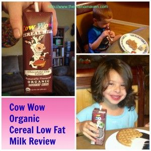 There's a new organic milk in town. Cow Wow Organic Cereal Milk Wows Us. #Organic