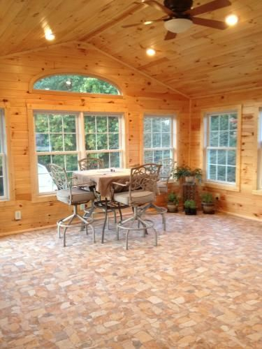 92 best merola tile in action images on pinterest for Sunroom tile floor ideas