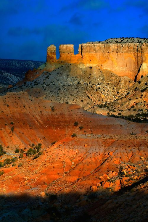 Ghost Ranch near Abiquiu, New Mexico.                                                                                                                                                                                 More