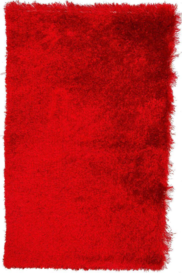3x4 Red Shag Rug