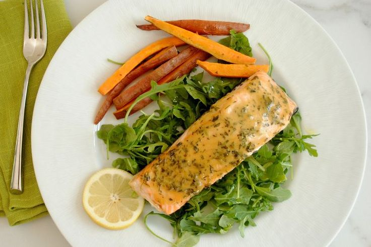 Honey-Mustard Herbed Salmon in Under 10 Minutes