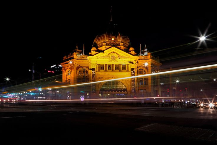 Flinders Street Railway Station by samiKoo on 500px