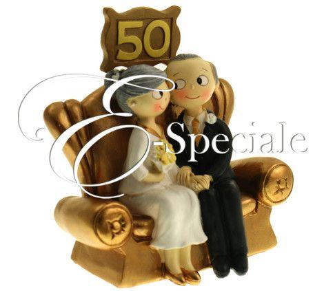 Cake Topper Nozze Oro - Prodotti per Cake Topper - Cake Topper Nascita - accessori e gadget per matrimoni e feste - E-speciale