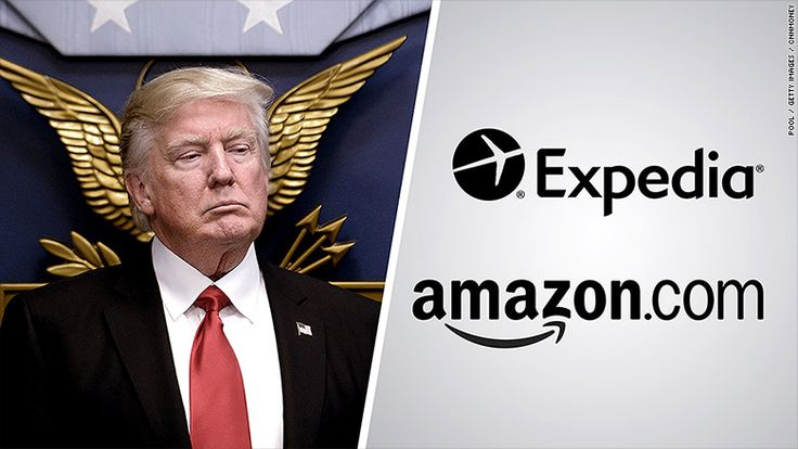 Amazon and Expedia have filed motions in support of suit opposing Trump travel ban.