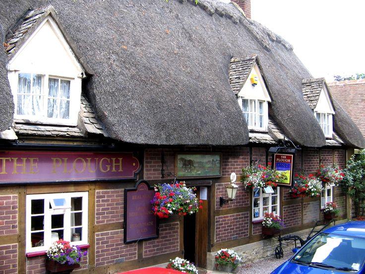 The Village Of Prestbury Near Cheltenham Said To Be The