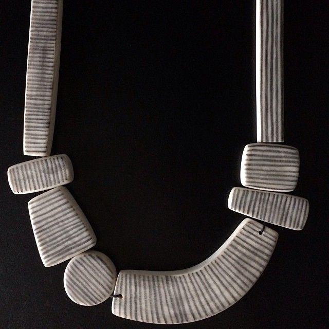 Nellsdottir necklace, polymer clay, www.nellsdottir.com