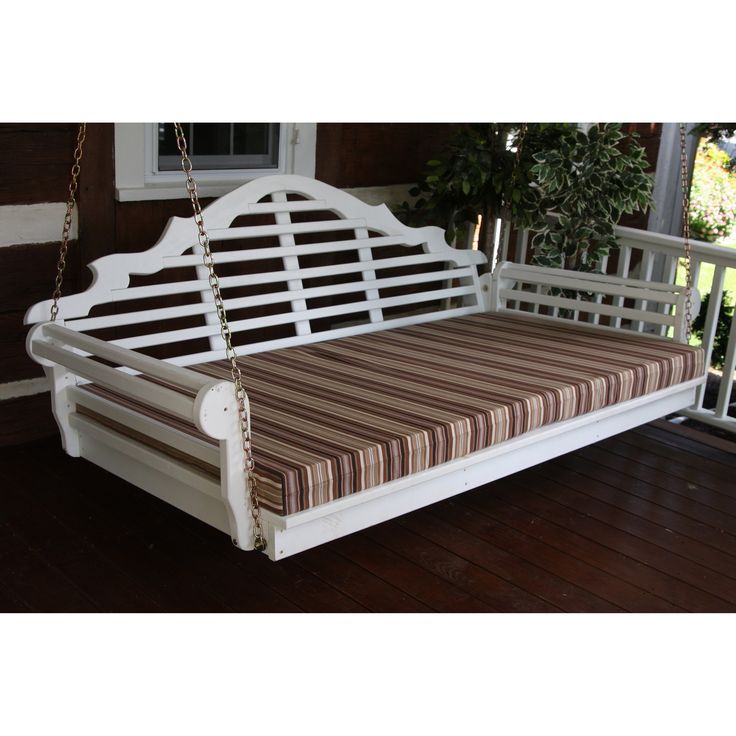 Have to have it. A & L Furniture Yellow Pine 75 in. Marlboro Single Mattress Swingbed - $606.98 @hayneedle.com