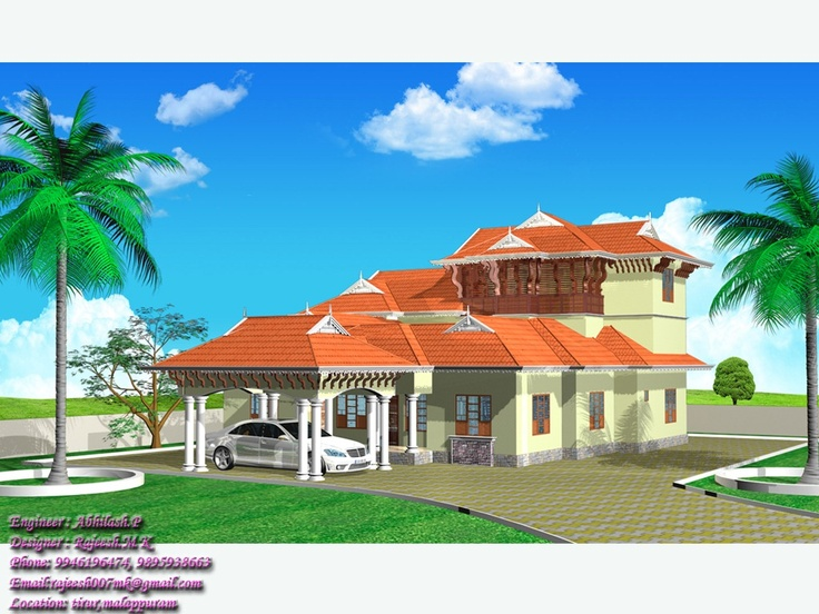 Best 17 dream home images on pinterest architecture for Kerala dream home plans