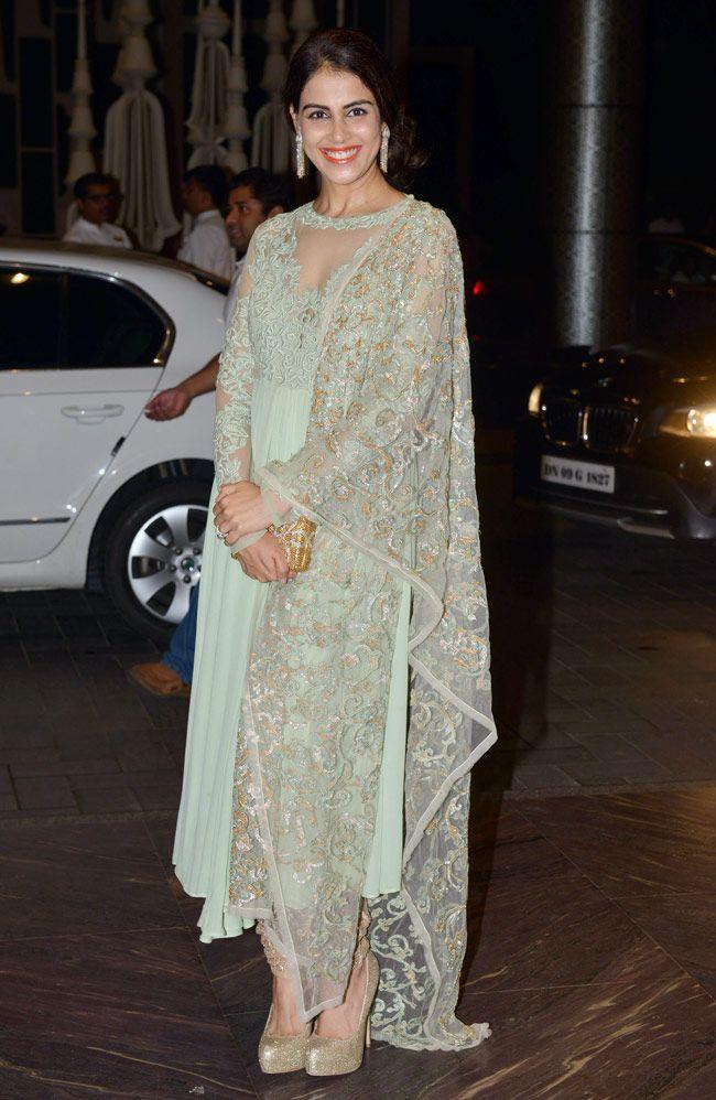 Genelia D'Souza Deshmukh at Shahid Kapoor and Mira Rajput's wedding reception. July, 2015