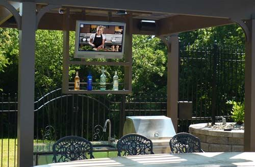 1000 Images About Outdoor Tv Mounts On Pinterest