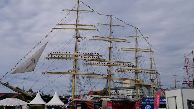 Tall ship race i Kristiansand