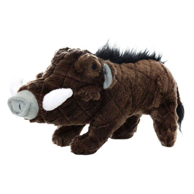 Mighty Safari Warthog Durable Dog Toy Brown - MT-S-WARTHOG-BR