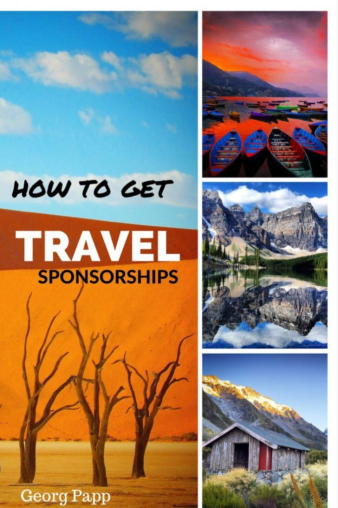 How to get paid travel sponsorships