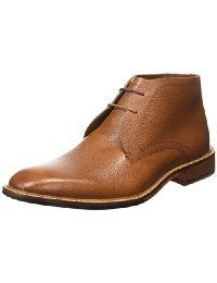 Ted Baker Mens Tan Torsdi 4 Leather Ankle Boots