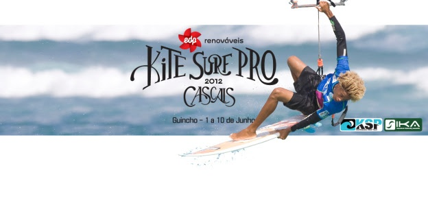 KSP Portugal - EDP Kite Surf Pro Cascais 1 to 10 June 2012 | One week and counting to the kick off of the Cascais Kite Surf Pro in Portugal! Don't miss the live webcast starting on June 1st on kspworldtour.com The KSP Tour will kick off at Europe's kite surfing mecca, Guincho Beach in Cascais, Portugal, from June 1 to 10. The side-onshore wind conditions at Guincho's right-hand beach break will surely expose the progressive new school aerial movement, bringing it to the forefront of...