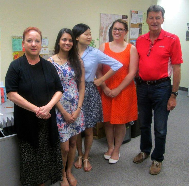 MP John McKay visited the Centre to meet our summer students - Rebecca, Lucy and Danielle.  Thank you to Service Canada for making it possible to have these talented women work with us!