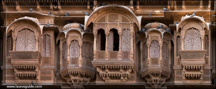 Patwon ki Haveli  One of the largest havelis in Rajasthan, Patwon ki Haveli is a cluster of five small havelis. Started by Guman Chand Patwa, a wealthy banker, Patwon ki Haveli took almost 55 years to be built and was completed by his sons.
