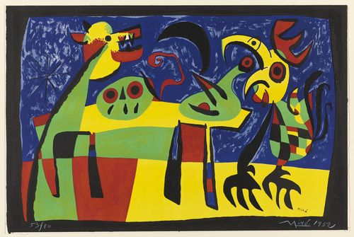"""Dog Barking at the Moon, (1952) 