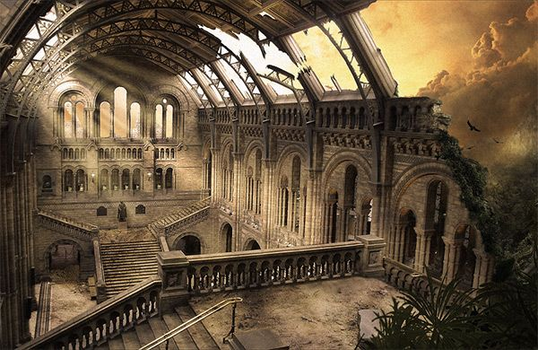 This used to be my Mansion, my home. And now it's in Ruins.