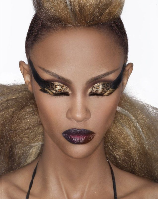 African American Makeup Looks Bold Makeup Looks For