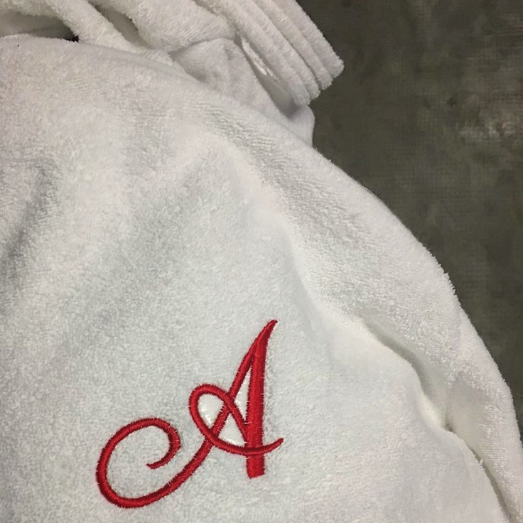 MarinaC - a classic font for your soft bathrobe #marinacmilano #luxury #alwayschic