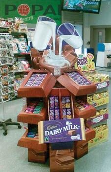 POPAI Cadburys entry.jpg 226×350 pixel vending machine and visual merchandising