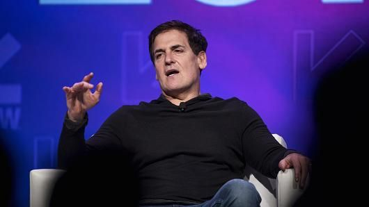 Mark Cuban, billionaire owner of the National Basketball Association's (NBA) Dallas Mavericks basketball team, speaks at the 2017 South By Southwest (SXSW) Interactive Festival at the Austin Convention Center in Austin, Texas, U.S., on Sunday, March 12, 2017.