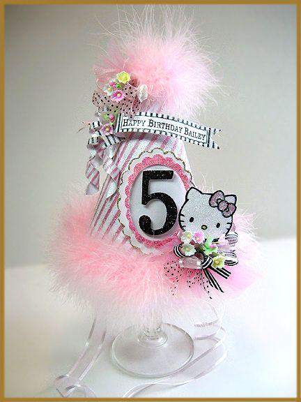 """""""Hello Kitty"""" Birthday Hat"""