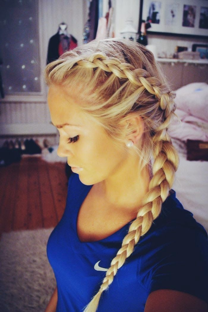 Side French Braid For Beginners Video Tutorial
